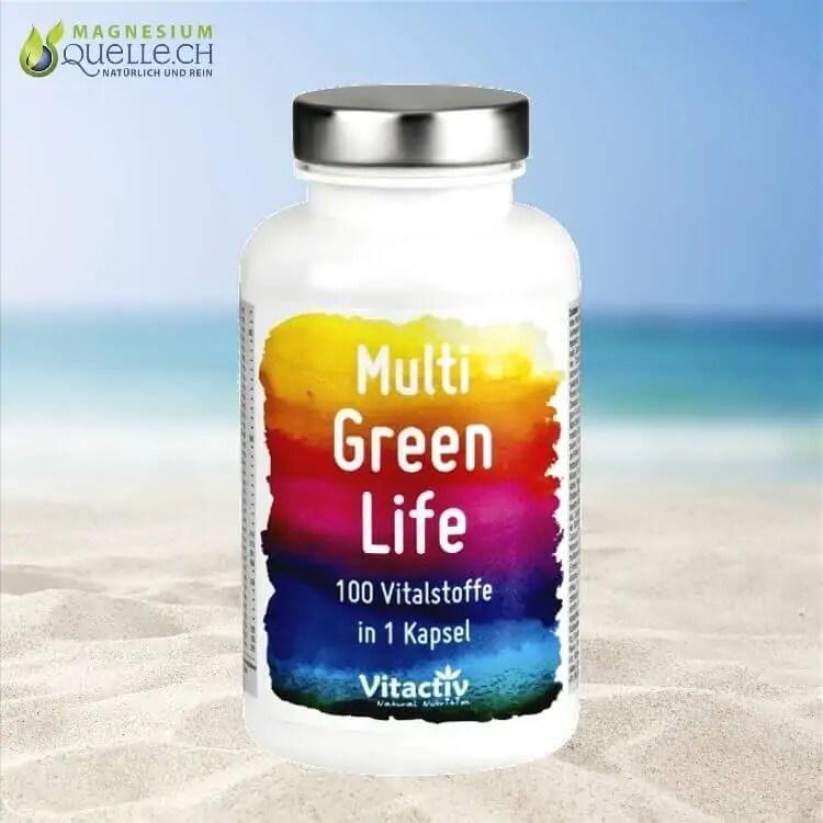 MULTI GREEN LIFE - Vitamine & Mineralien kaufen Schweiz