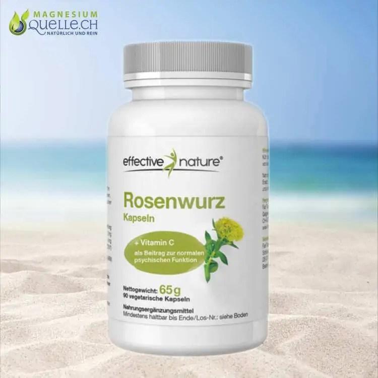 Rosenwurz Rhodiola rosea mit Acerola Extrakt Kapseln 90 Stk kaufen