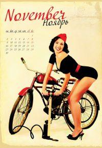 Календарь с девушками на заказ_03