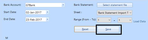 bank statement