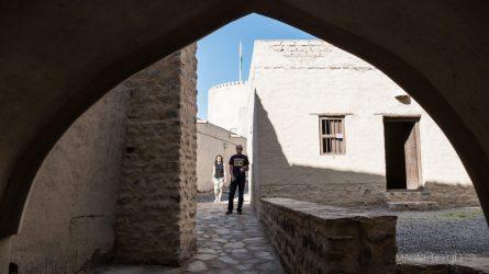 Zwiedzamy fort zupełnie sami