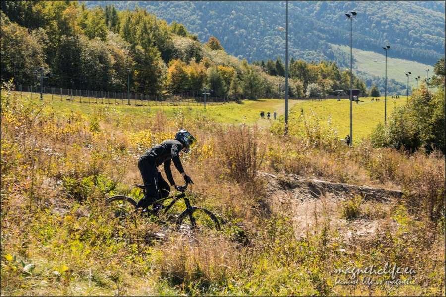 Zjazd rowerem zgóry Żar