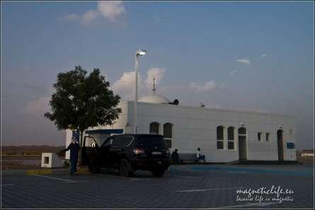 Meczet przy stacji benzynowej