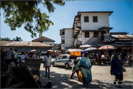 Targ spożywczy. Zakupy na Zanzibarze