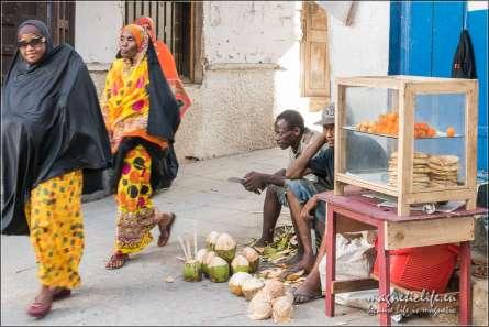 sprzedawca kokosów