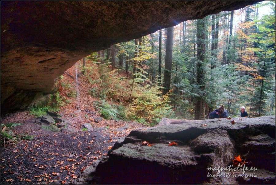 Jaskinia Komonieckiego jesienią
