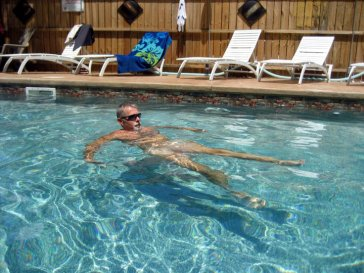Heated Saltwater Pool - Clothing optional, naturally!