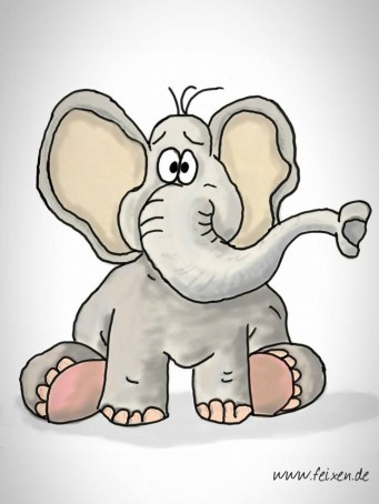 Elefant Cartoon