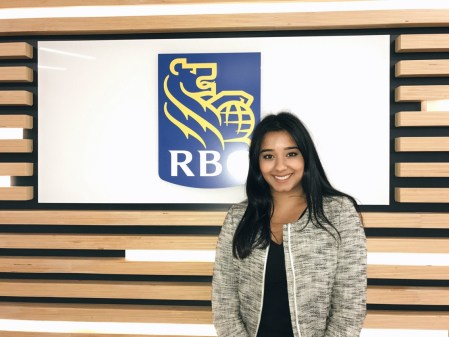 Juhi Chikhlia X Royal Bank of Canada - manget.me blog