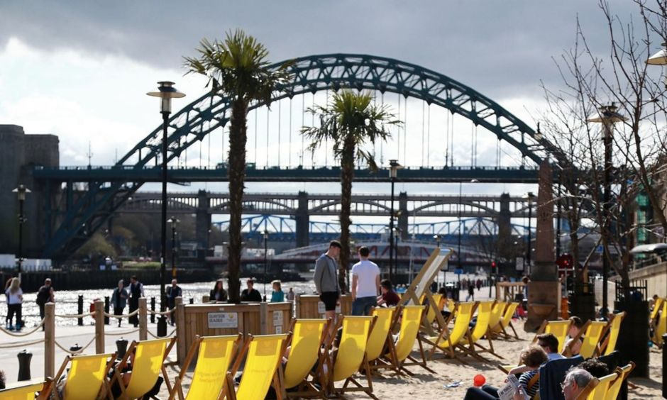 Quayside Seaside study places Newcastle