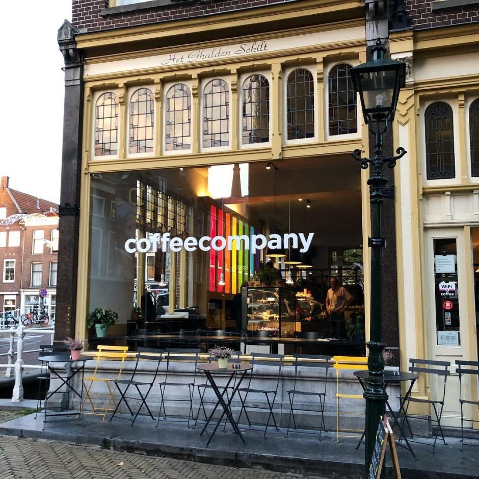 coffee company - studieplekken - Delft - koffie -studeren - magnet - me