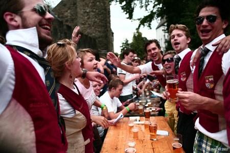Studenten biercantus - Studentenverenigingen in Utrecht - Magnet.me blog nl