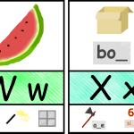 Teaching the X sound as 'X as in box'