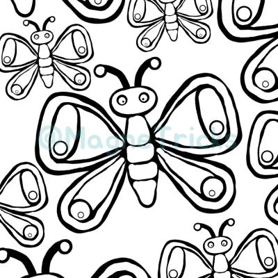 colour in butterflies