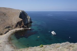 Scorpion Anchorage on Santa Cruz Island