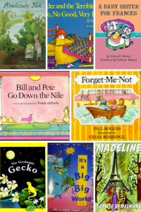 Books to Inspire Travel in 2-5 year olds