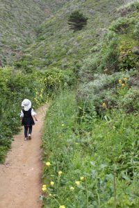 HJ on Gray Whale Trail