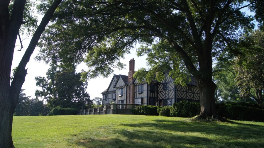Agecroft Hall Unique Architecture in Richmond Virginia