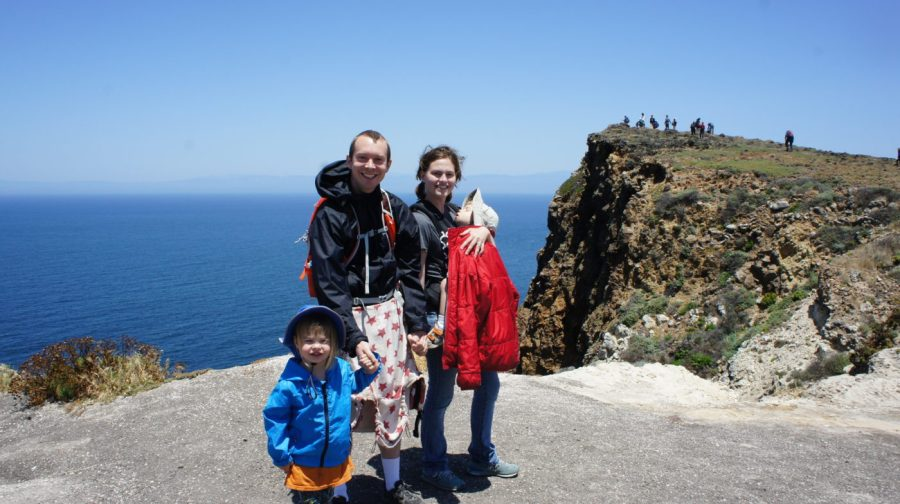 Family Photo at Cavern Point
