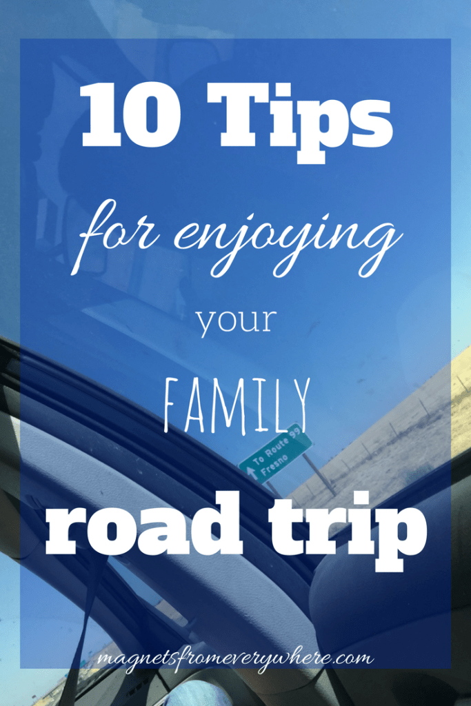 10 tips for enjoying your family road trip