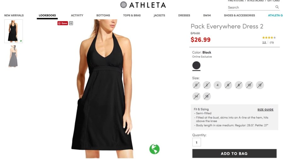 Athleta Pack Everywhere 2