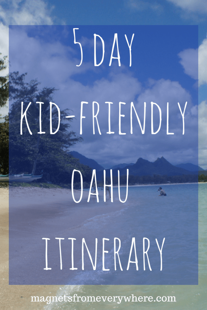 Hawaii Kids Itinerary