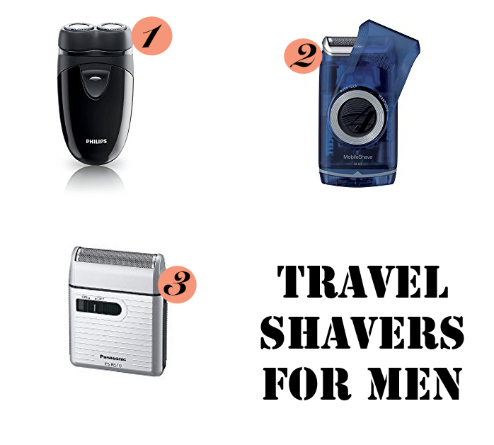 Shaver gift ideas for men who travel