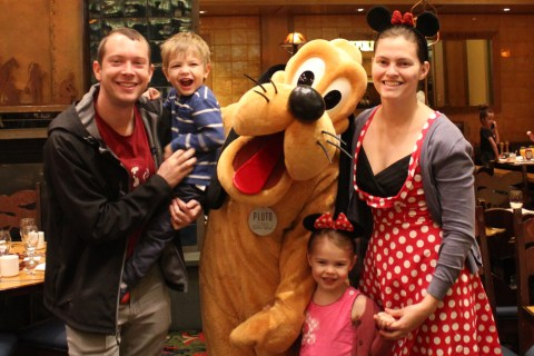 Family with Pluto
