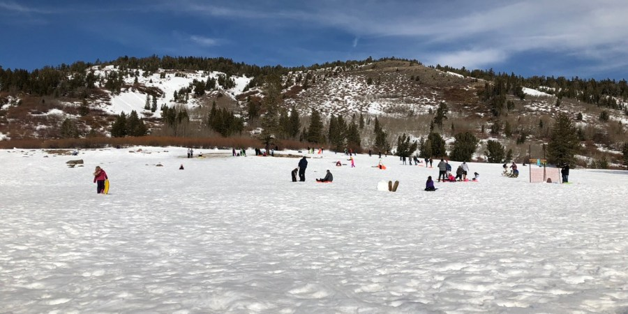 Mount Rose Sledding Hill