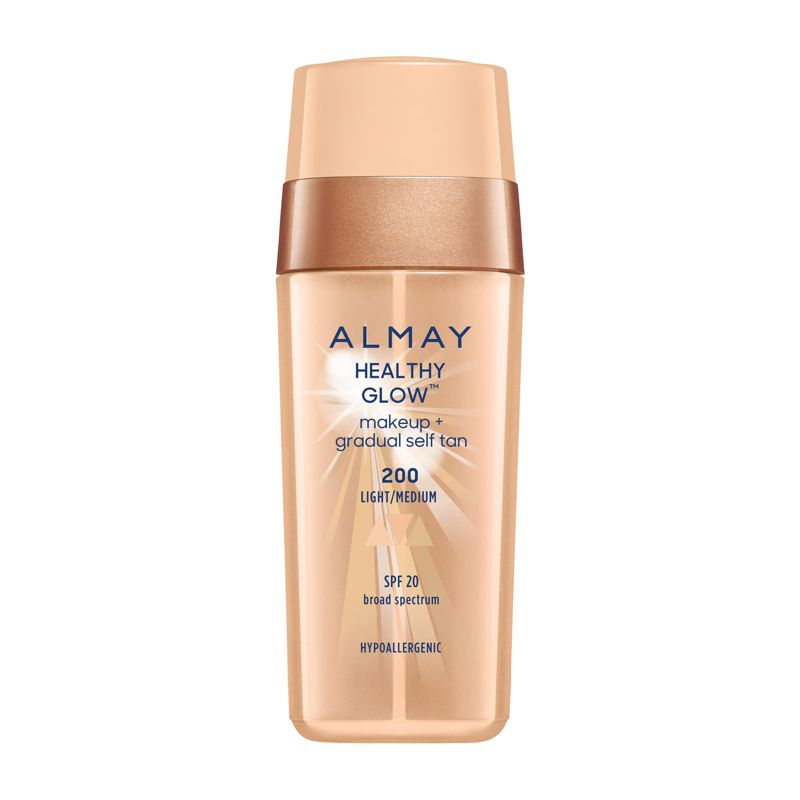 Almay Healthy Glow Makeup + Self Tan