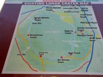 Lonar Crater Map