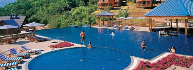 Swimming pool at Aamby Vally