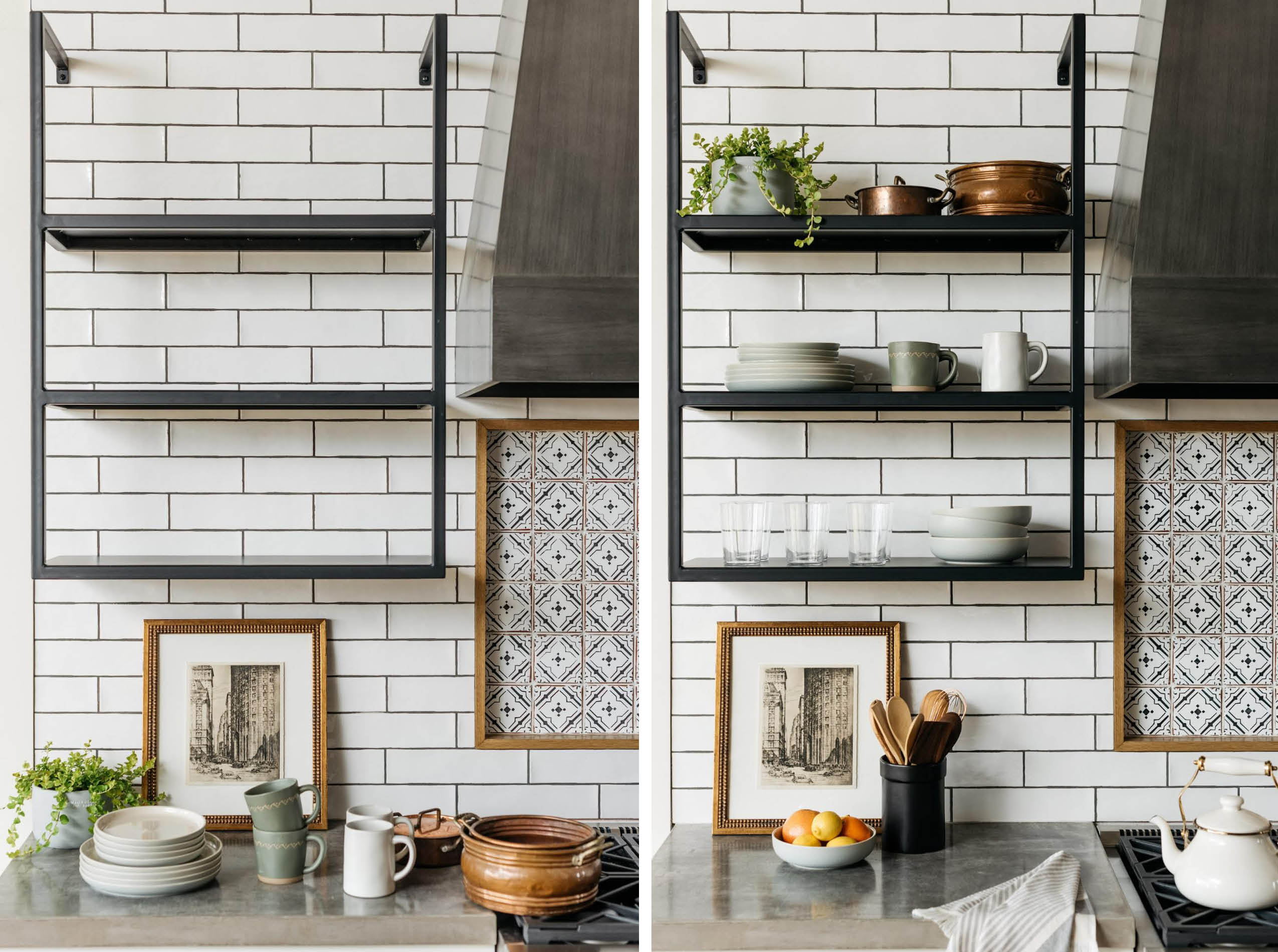 a technical guide to open shelving