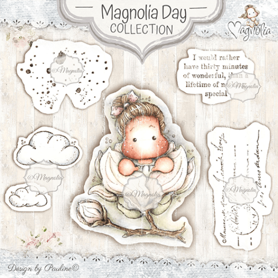 MD-19 Magnolia Day Art Stamp Kit