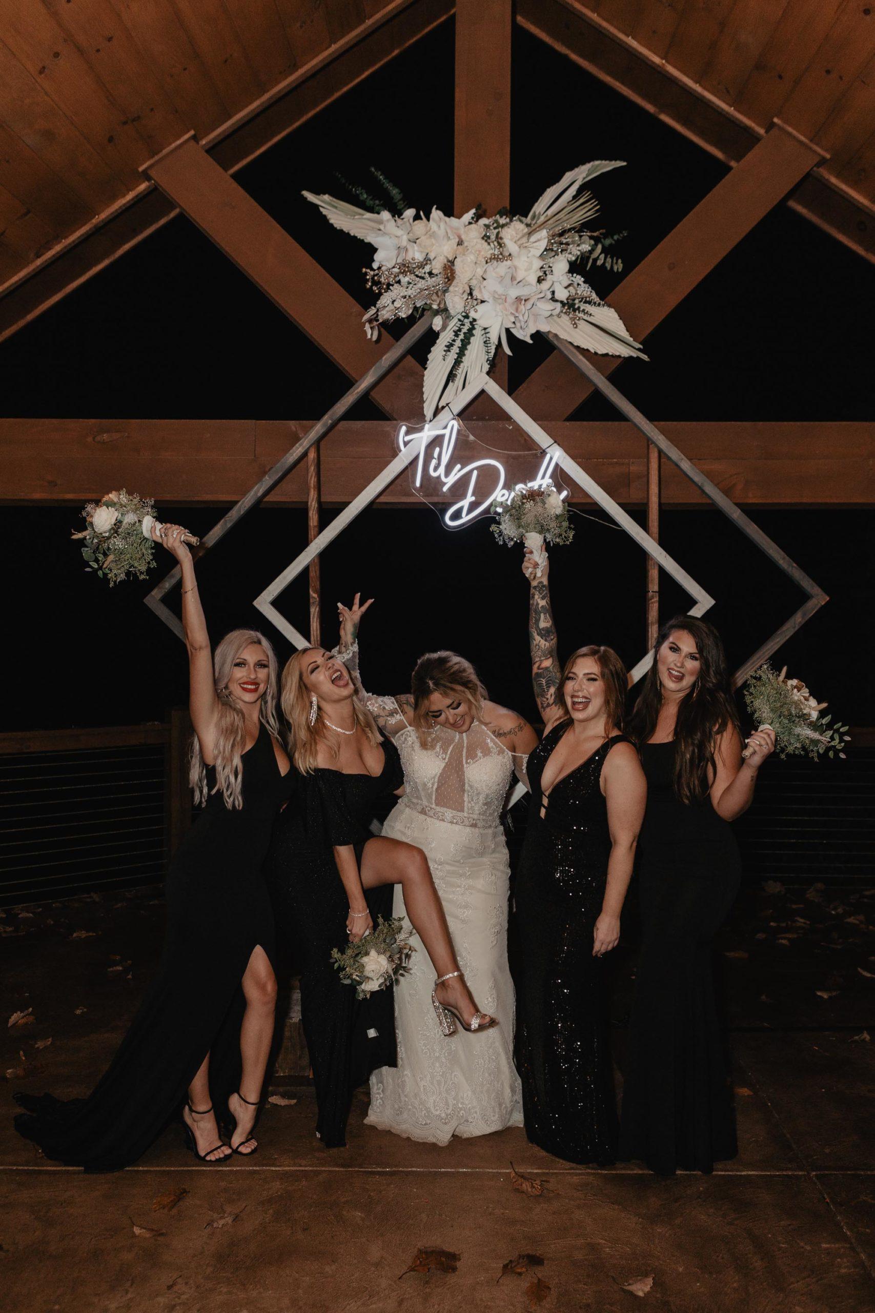 'Til Death neon light for wedding