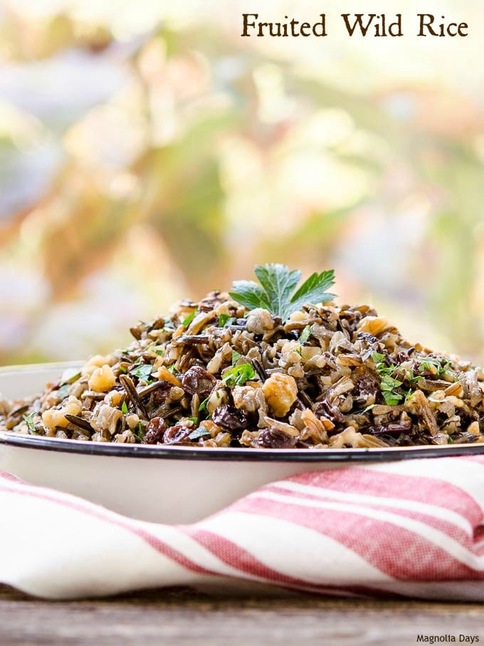 Fruited Wild Rice
