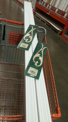 Home depot trip to buy sign crafting supplies