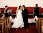 Our second kiss as husband & Wife