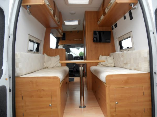 Conversion Van Parts Interior Quickest Ever Camper
