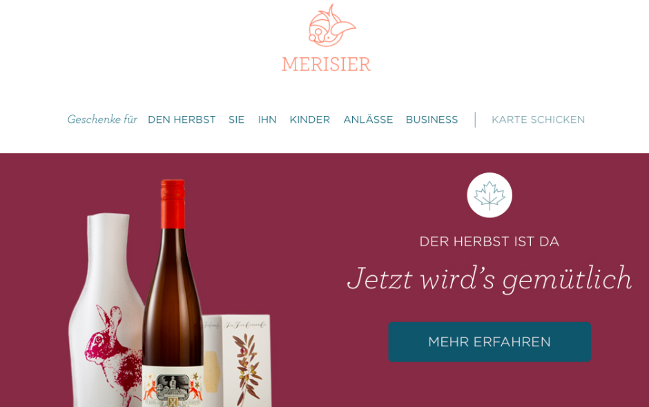 merisier online shop