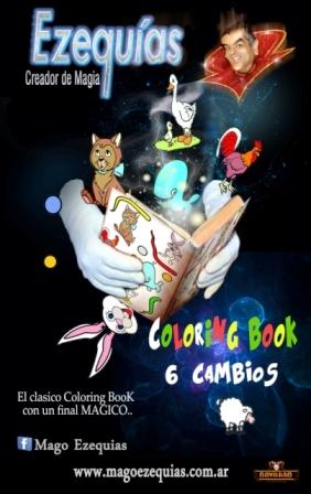 Coloring book – Libro de colores | Mago Ezequías