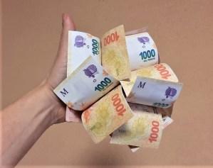 bouquet billete money