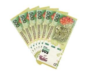 siempre seis 6 billete money