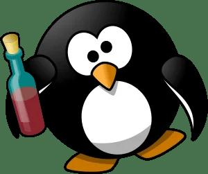 酔ったペンギン