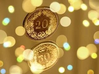 金のコイン
