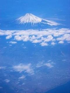 透明の富士山
