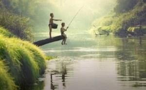 カンボジアで釣り