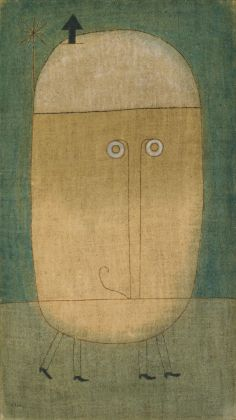 5. Paul Klee - Mask of fear (1932)