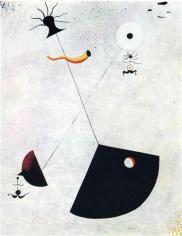 8. Joan Miro - Maternity (1924)