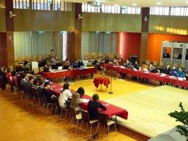 Ünnepi meeting 2011-ben, az SzMSz elfogadásakor